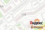 Схема проезда до компании АвтоПартнер-74 в Челябинске