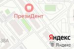 Схема проезда до компании Светлячок в Челябинске