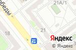 Схема проезда до компании Паллада в Челябинске