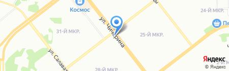 Оранжерея на карте Челябинска