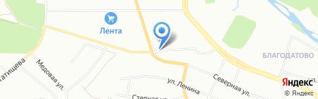 Чип-Ателье на карте Челябинска