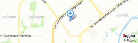 Auto II din на карте Челябинска