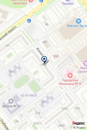 ТЕРРИТОРИЯ-С на карте Челябинска