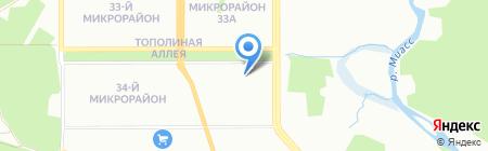 РадЛин на карте Челябинска