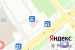 Схема проезда до компании Вкусное дело в Челябинске