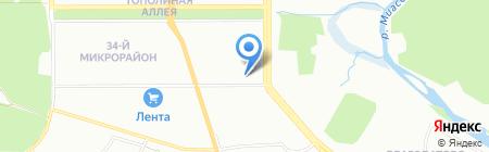 КомплектТорг на карте Челябинска
