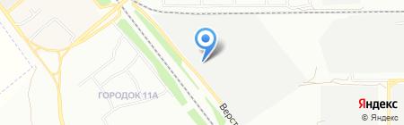 Плафен на карте Челябинска