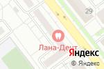 Схема проезда до компании Уральская недвижимость в Челябинске