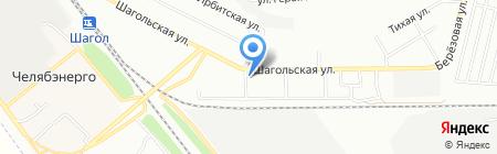 Аптека КЛАССИКА на карте Челябинска