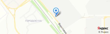 Комплекс на карте Челябинска