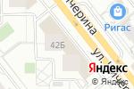 Схема проезда до компании 5элементов.рф в Челябинске