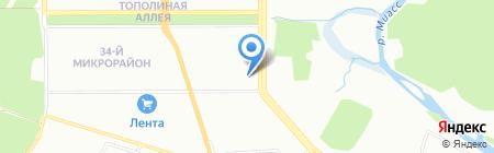 Академия Успеха на карте Челябинска