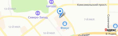 Мелодия здоровья на карте Челябинска