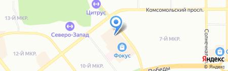 220 Вольт на карте Челябинска