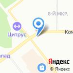 Магазин цветов на карте Челябинска