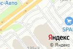Схема проезда до компании Первый независимый автоцентр в Челябинске