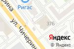 Схема проезда до компании Дыхание моря в Челябинске