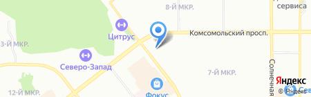 Цветы любви на карте Челябинска