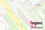 Схема проезда до компании Дымный Кот в Челябинске