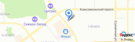АНП-Карго-Челябинск на карте Челябинска