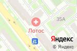 Схема проезда до компании Наша школа в Челябинске