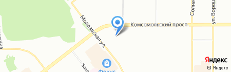 Креатив Колор на карте Челябинска