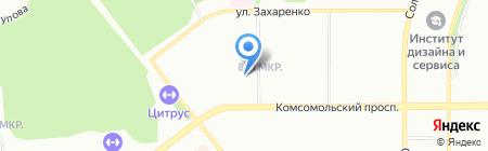 Идеал на карте Челябинска