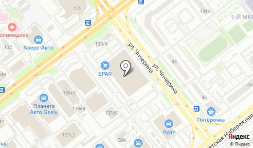 Банкомат АКБ Росбанк. Схема проезда в Челябинске