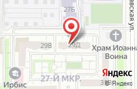 Схема проезда до компании Стальиндустрия в Челябинске