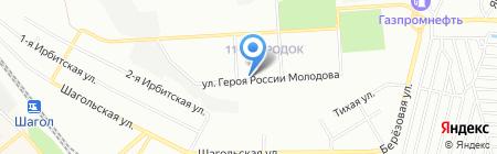 Патриот на карте Челябинска