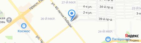 Много Пива на карте Челябинска