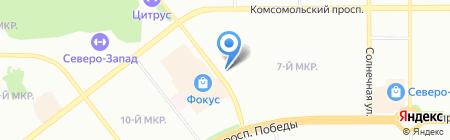 Дети в моде на карте Челябинска