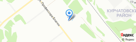Эко-Сервис на карте Челябинска
