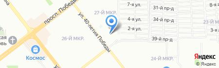 О`кей на карте Челябинска