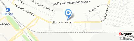 КОМПАС на карте Челябинска