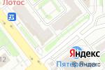 Схема проезда до компании Цветочный дуэт в Челябинске