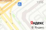 Схема проезда до компании Красивые ДВЕРИ в Челябинске