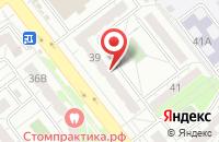 Схема проезда до компании Вулкан в Челябинске
