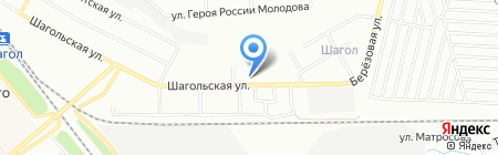 Райский Остров на карте Челябинска