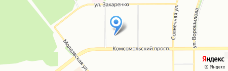 Детский сад №426 Солнечная поляна на карте Челябинска