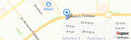 PerSi motors на карте Челябинска