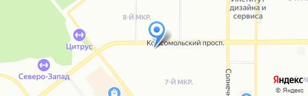 Арго на карте Челябинска