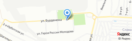 Аурум 585 на карте Челябинска