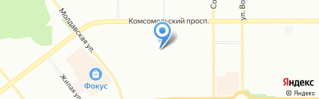 Детский сад №383 на карте Челябинска