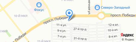 Департамент Недвижимости Бест на карте Челябинска
