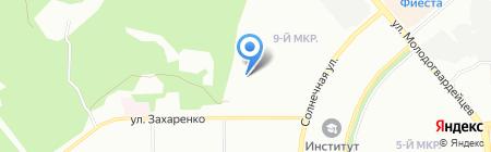 Детский сад №379 на карте Челябинска