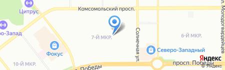 Здоровье Н.Г. на карте Челябинска