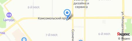 Про-Полы.ру на карте Челябинска