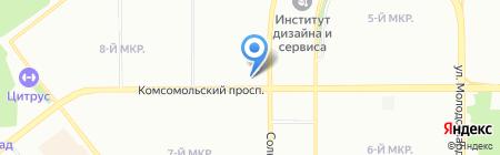 Форум на карте Челябинска