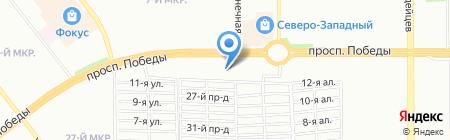 РСТК-Логистика на карте Челябинска